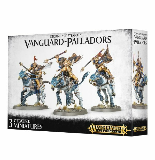 Warhammer Age of Sigmar Stormcast Eternals Vanguard-Ptuttiadors  NIB  autorizzazione ufficiale