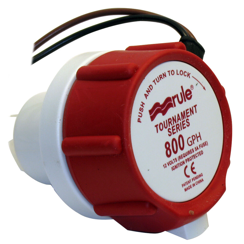 Rule 46DR Replacement Motor Cartridge f Tournament Series- 800GPM 12V