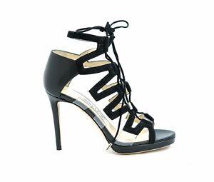 New-in-Box-Jimmy-Choo-DANI100-Black-Sandal