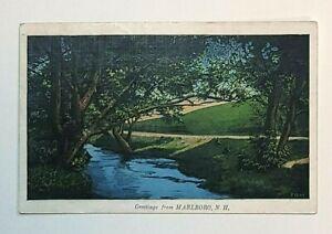 Vintage-Postcard-Greetings-From-Marlboro-New-Hampshire-C338