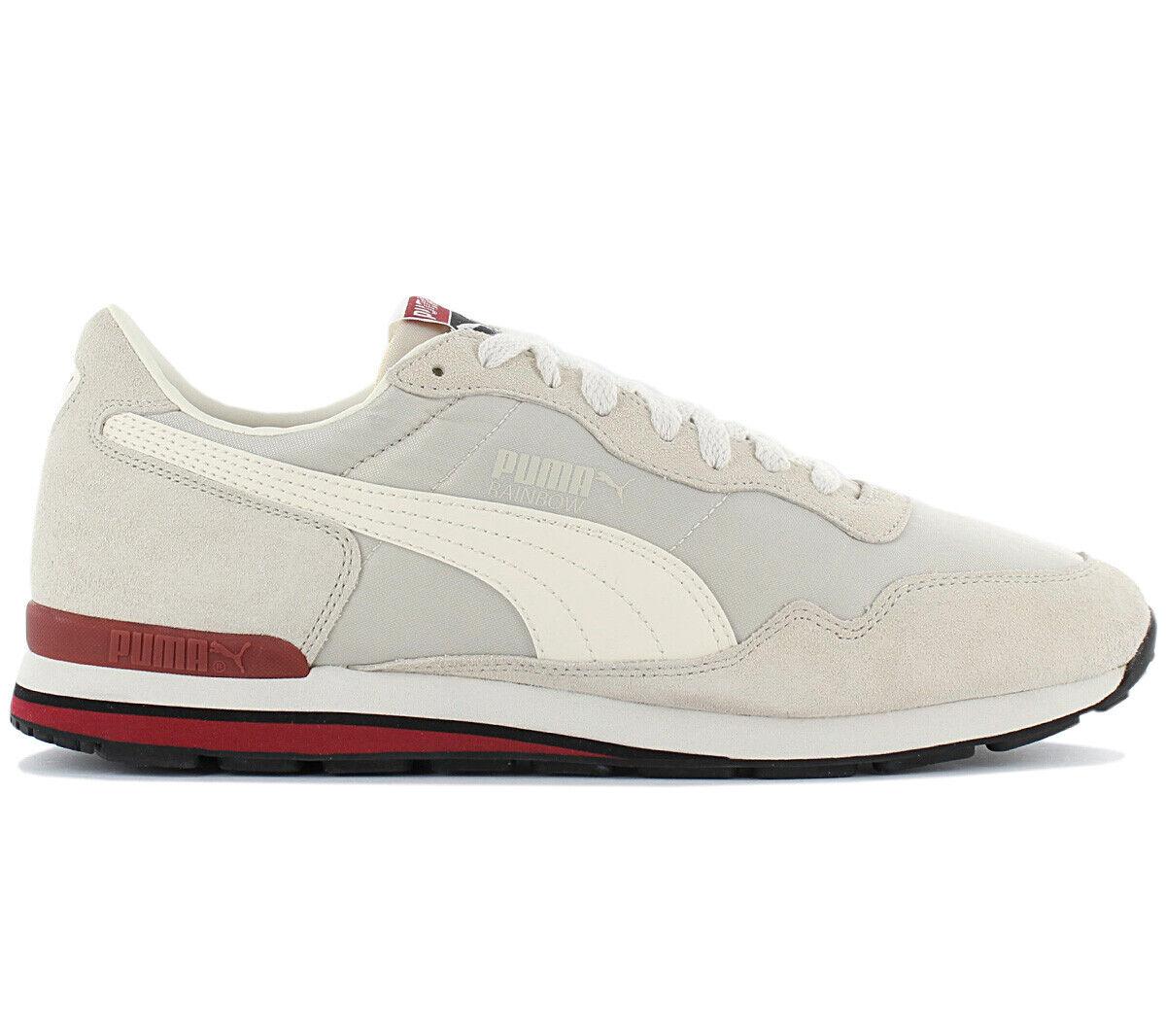 Puma Classic Rainbow SC MENS TRAINERS 365583-02 White Beige Retro shoes New