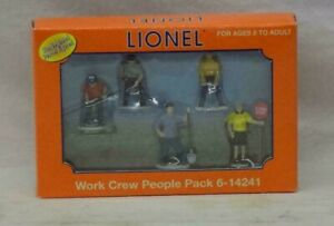 Lionel-6-14241-Work-Crew-People-Pack-Brand-New-in-Box-C-10-gn