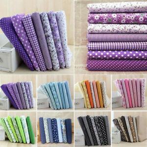 7pcs-25-25-Soft-Cotton-Fabric-Cloth-DIY-Handmade-Sewing-Home-Decoration-Trendy