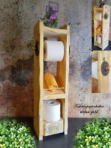 Details Zu Toilettenpapierhalter Palettenmöbel Klopapierhalter Holz Shabby Design Premium