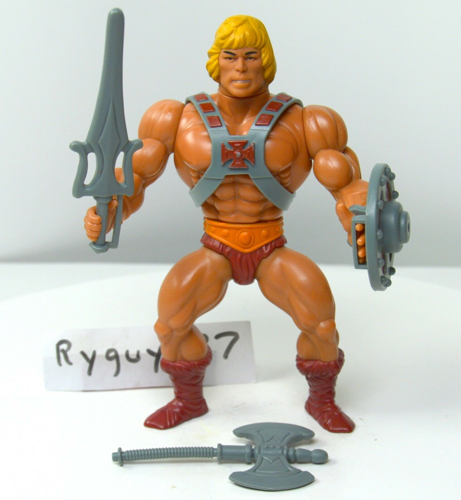 MOTU, Commemorative He-Man Masters of the Universe, figure, complete, original
