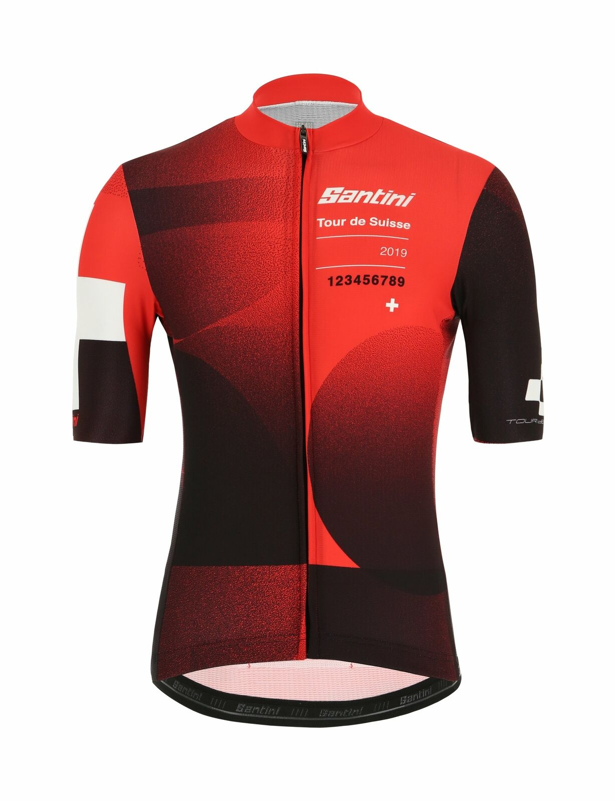 2019 Tour de Suisse Cross  Cycling Jersey by Santini  presenting all the latest high street fashion