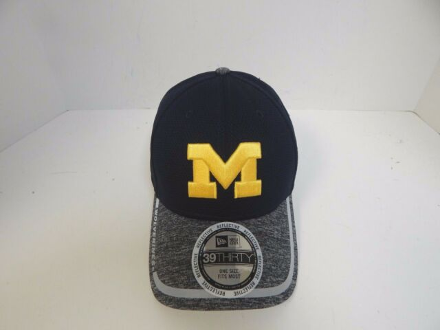 quality design c2569 2b867 ... sweden new era 39thirty ncaa michigan wolverines navy grey fitted cap  osfm 8a80b 5162a