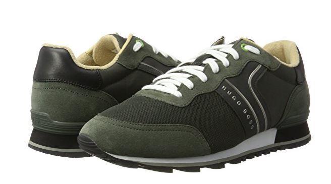 Boss Green Parkour Runn dark green men's trainers size 12UK (46EU)