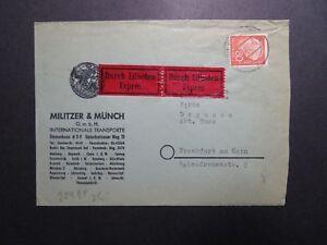Germany-1961-Durch-Eilboten-Expres-Cover-Z12146