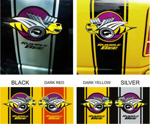 1500-2500-Dodge-Ram-bee-super-decals-Rumble-bee-Rear-Side-Stripes-Racing-Sport