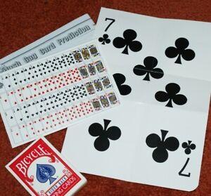 -- nice effect plus useful utility prop     TMGS JUMBO Mental Card Prediction