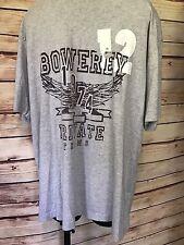 GAP Grey Size XL SHORT SLEEVE Bowerey Private Teams 1974 Graphic TSHIRT
