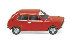 VW-POLO-1-rouge-du-Senegal-1975-WIKING-003648-echelle-H0-1-87-maquette-de