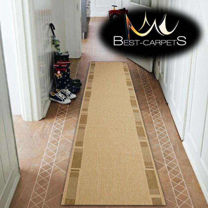 Läufer Teppiche Sizal Floorlux Holzrahmen Schön Modern Treppen Breite 70cm-120cm