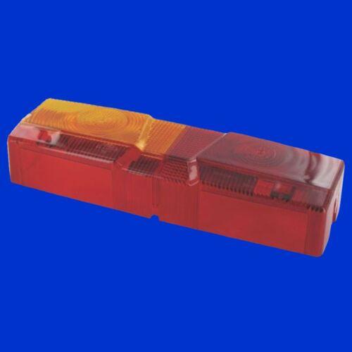 Ersatzglas Kappe für Case XL Rücklicht Rückleuchte Prüfzeichen E1 53221