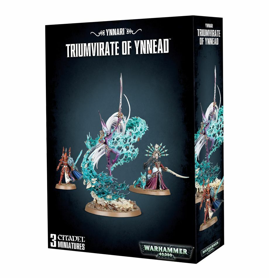 Craftworlds Eldar Triumvirate of Ynnead Games Workshop 40k 20% off UK rrp