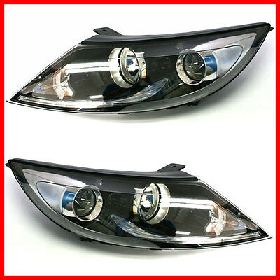 OEM GENUINE PART KIA SPORTAGE PROJECTION LED HEAD LAMP LIGHT SET 2011-2013