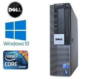 Fast-Dell-Optiplex-980-SFF-Intel-Core-i5-4GB-250GB-Windows-10-PC-Desktop