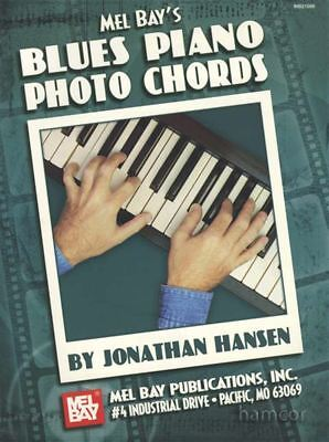 Musical Instruments Mel Bay's Blues Piano Photo Chords Chord Book For Keyboard Or Piano