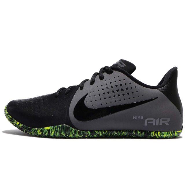 Nike Air He Aquí Bajo Negro Gris De Oscuro Volt Hombres Zapatos De Gris Baloncesto 8d3be0