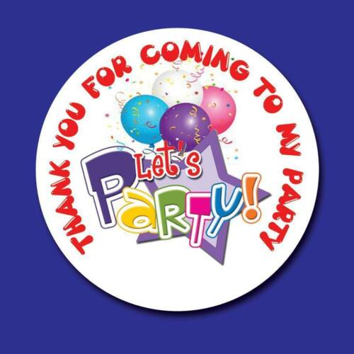 BOYS BIRTHDAY PARTY SWEET CONE GIFT GOODY BAG SEAL STICKER LABELS CHILDRENS