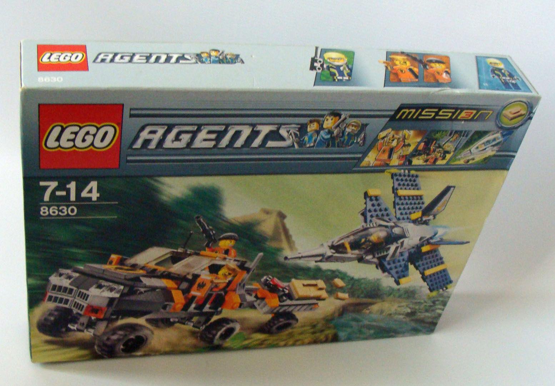 LEGO ® Agents 8630  Mission 3-orjagd 352 pièces 7-14 ans Neuf nouveau  envoi gratuit dans le monde entier