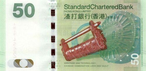 50 Dollars - Mythical Creature//Lock//p298a UNC 1.1.2010 Hong Kong SCB