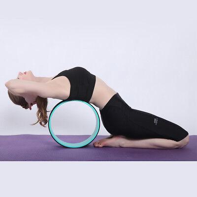 yoga wheel healthfitness high quality material back