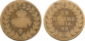 Louis-XVIII-1-decime-1815-point-blocus-de-Strasbourg-bronze-65