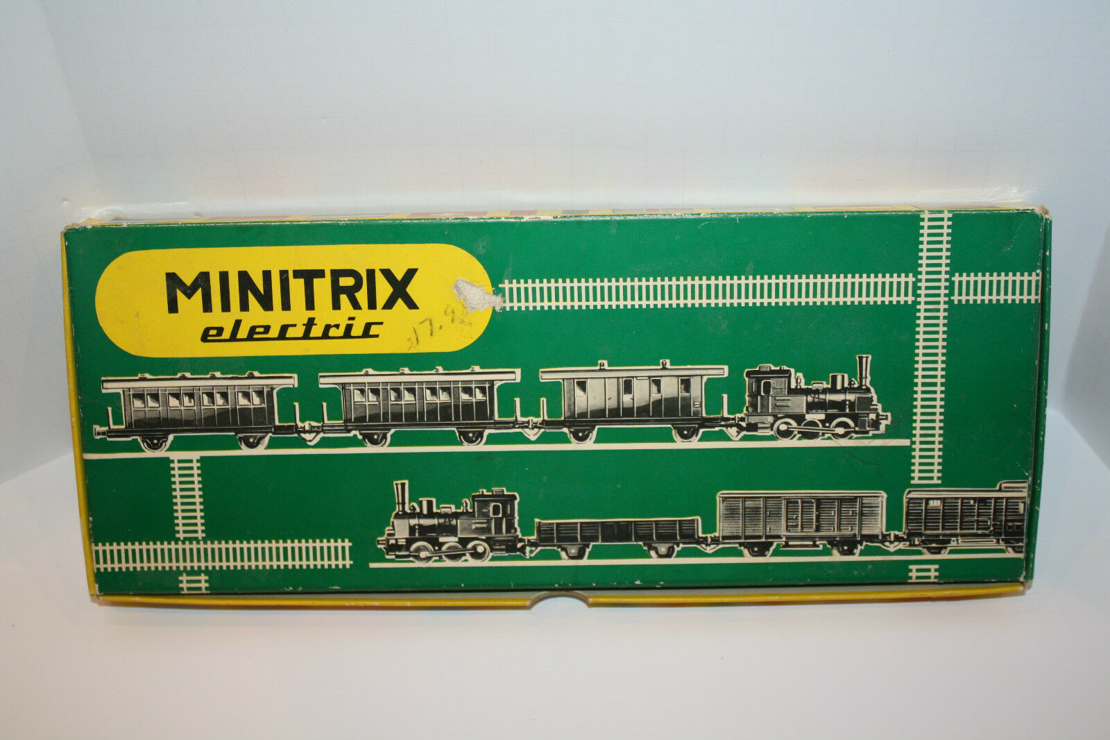MINITRIX ELECTRIC TRAIN SET 2914  N SCALE MADE MADE MADE W. GERMANY VINTAGE 603d9a