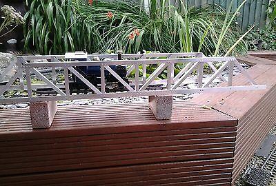 Bello Garden Railway Bridge Sides For 7/8, Lgb,16mm, Or Sm32 Con Una Reputazione Da Lungo Tempo