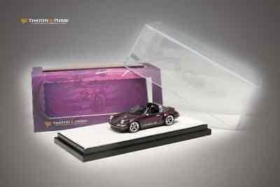 Timothy /& Pierre 1:64 Porsche 911 Singer 964 Coupe Targa Roadster Matte Red