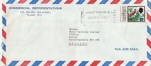 1975 Trinité-et-tobago Oversize Couverture à Oldbury, West Midlands-afficher Le Titre D'origine