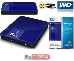 HD-2-5-ESTERNO-1TB-WD-My-Passport-Ultra-1-TB-Blue-WDBGPU0010BBL-USB-3-0