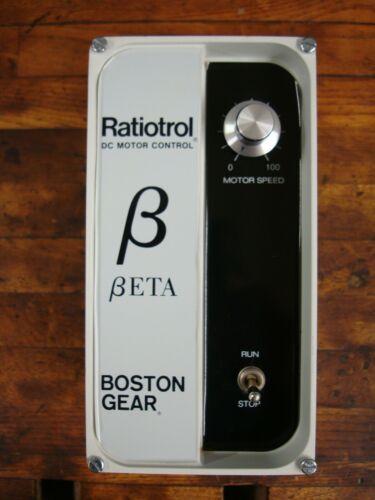 factory box. NOS Boston Gear Ratiotrol Beta DC Motor Speed Control RB1S25B