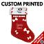 Cat Gift Dog Treat Xmas Personalied Name Stockings Custom Printed Pet Stocking