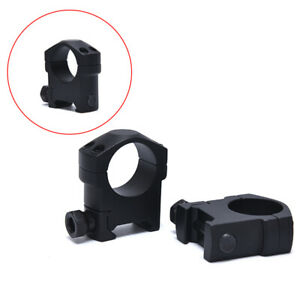 25-4mm-1Pair-Ring-Rifle-Scope-Mount-Tactical-Weaver-Rail-Medium-Width-Prof-qd