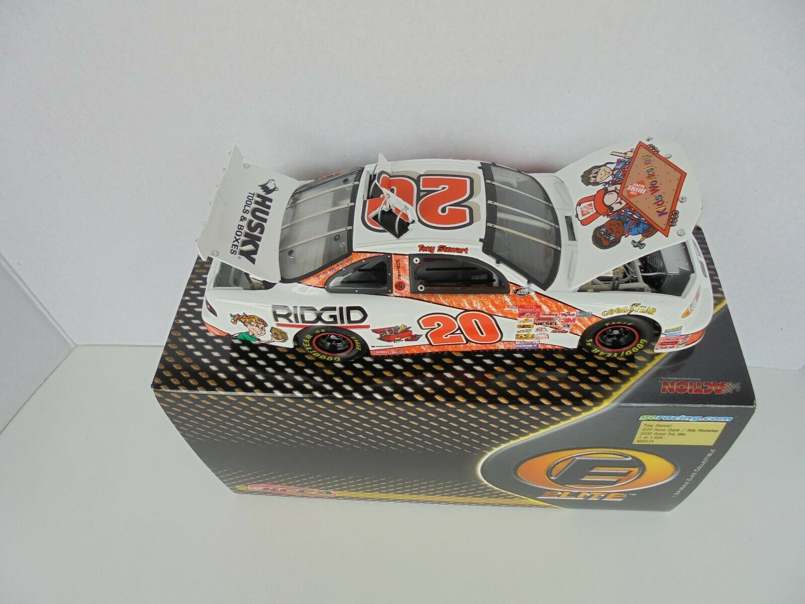 TONY STEWART Home Depot Kids Workshop 2000 Pontiac GP ELITE Nascar Diecast M