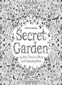 Image Is Loading Secret Garden An Inky Treasure Hunt And Colouring