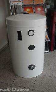 warmwasserspeicher wasserspeicher boiler 115 liter standspeicher f r heizung neu ebay. Black Bedroom Furniture Sets. Home Design Ideas