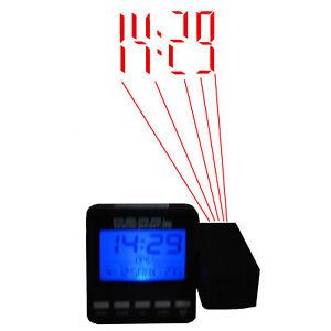 Funk-Projektionswecker-Funkuhr-mit-Projektion-Thermometer-Wecker-Projektor