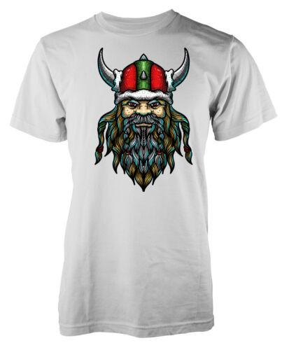 Viking Santa Père Noël soldat WARRIOR KIDS T Shirt