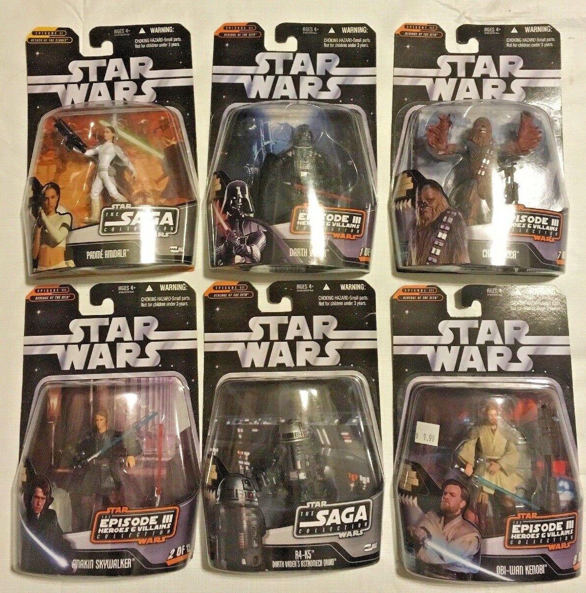 promociones emocionantes Estrella Wars episodio episodio episodio 2 y 3 Figuras Surtidos  opciones a bajo precio
