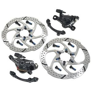 PAIR TRP SPYKE Mechanical Disc Brake Dual Side Actuation Mountain Bike Set 160mm
