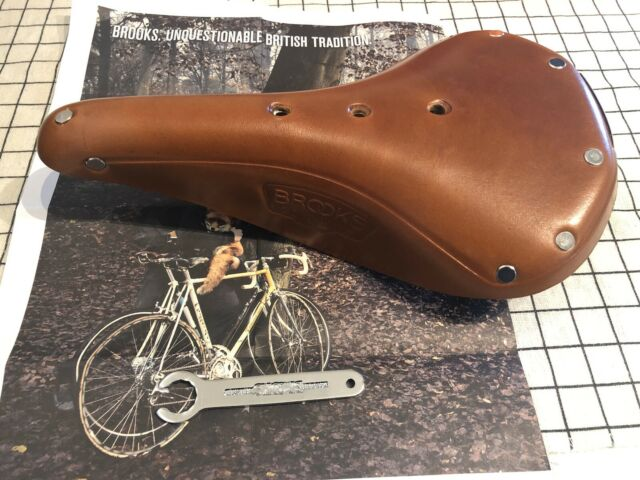 Black or Brown Brooks B17 Standard Classic Leather Bicycle Saddle Black Rails