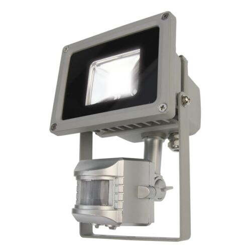 10 Watt Außenleuchte Fluter 10W LED Flutlichtstrahler XENO mit Bewegungsmelder