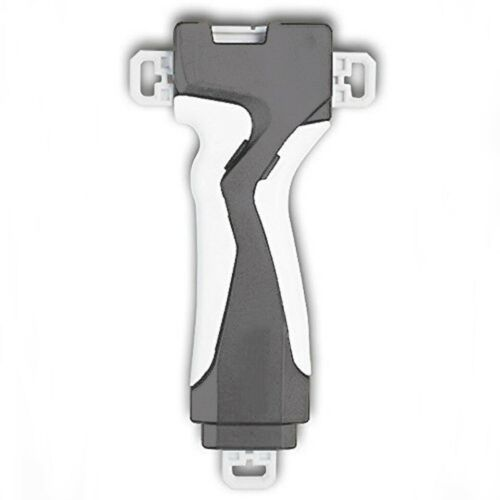LAUNCHER GRIP HAND GRIFF Grau Weiß für Kreisel Kompatibel zu Beyblade Burst
