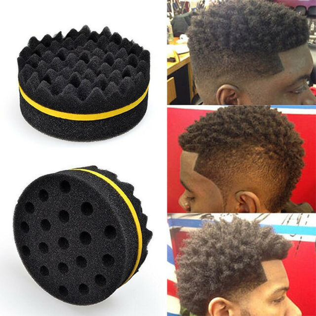 Cleaning Appliance Parts Provided Double Sided Barber Hair Brush Sponge Dreads Locking Twist Coil Afro Curl Wave Big Clearance Sale