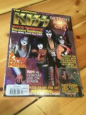 Kiss Metal Edge Official Detroit Rock City Film Magazine 1999 Gene Simmons