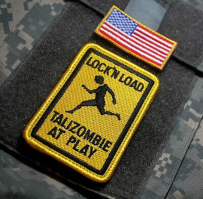 Talizombie Straßenschild Lock'n Load Kandahar Whacker Armee Rangers Ssi Tx